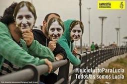 imagen campaña apoyo a Lucía Sandoval