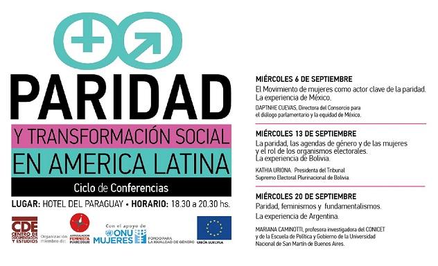"""El movimiento de mujeres como actor clave de la paridad. La experiencia de México"""""""
