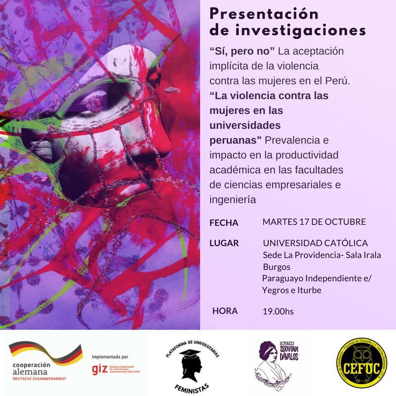 """""""Sí pero no, la aceptación implícita de la violencia contra las mujeres en el Perú"""""""