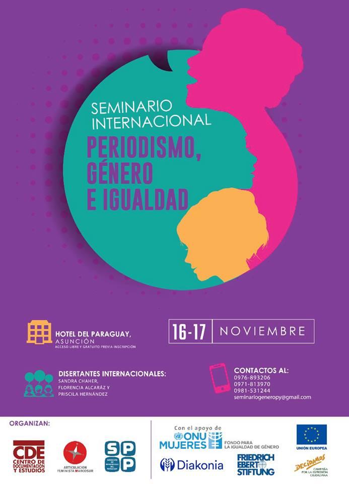 """Seminario Internacional """"Periodismo, Género e Igualdad"""""""