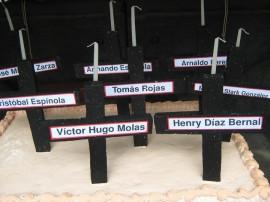 nombres de las víctimas del Marzo Paraguayo