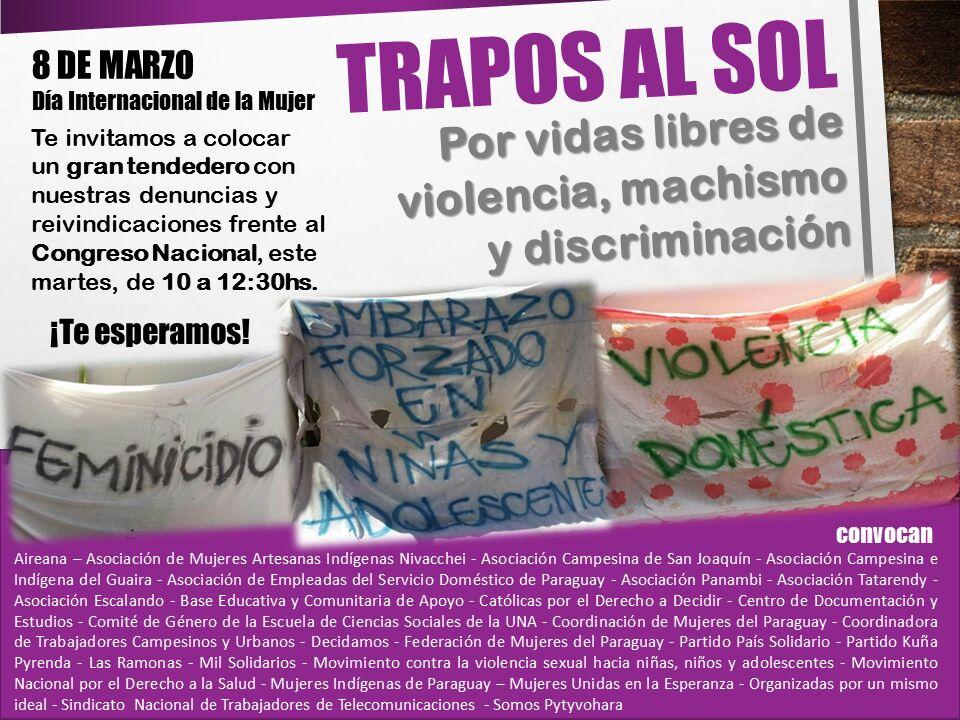 Día Internacional De La Mujer Las Paraguayas Coinciden En