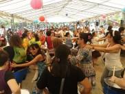 Imagen de lo que fue el 5to. Encuentro, que tuvo lugar en la Plaza de la Democracia.