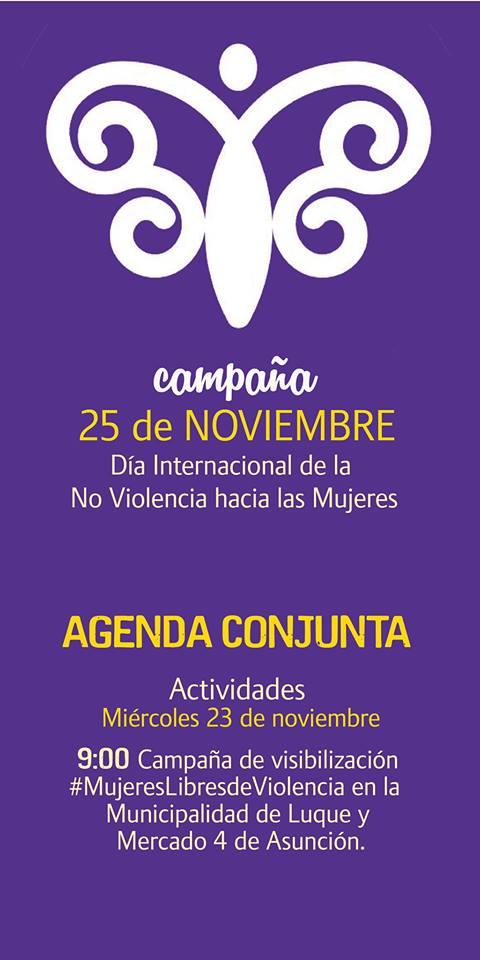 Agendas De Actividades Por Del Día Internacional De La No