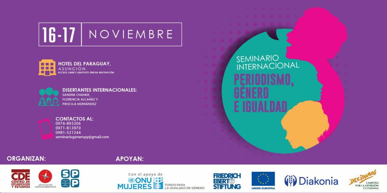 Seminario Internacional Periodismo, Género e Igualdad