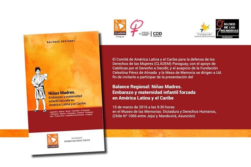 69af4b16b Lanzamiento del Balance Regional  Niñas Madres Embarazo y Maternidades  Infantiles Forzadas en América Latina y